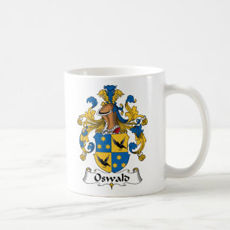 Escudo de la familia de Oswald Taza De Café