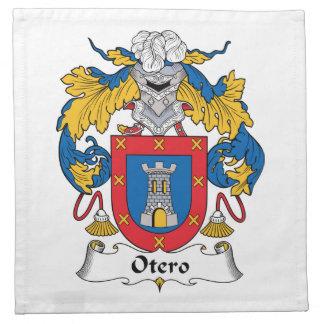 Escudo de la familia de Otero Servilletas Imprimidas