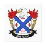 Escudo de la familia de Otis Impresión En Lona Estirada