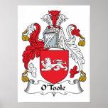 Escudo de la familia de O'Toole Impresiones