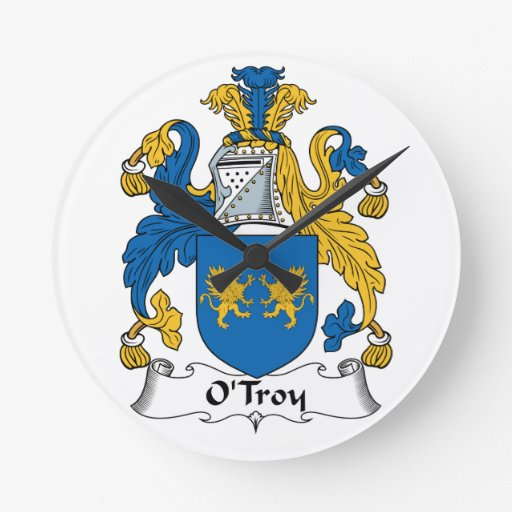 Escudo de la familia de O'Troy Relojes