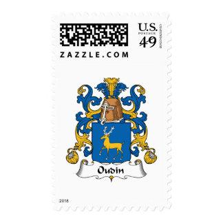 Escudo de la familia de Oudin Sellos