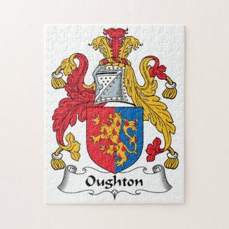 Escudo de la familia de Oughton Puzzle