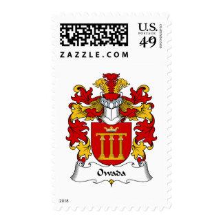Escudo de la familia de Owada Envio