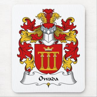 Escudo de la familia de Owada Tapete De Raton