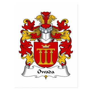 Escudo de la familia de Owada Postal