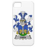 Escudo de la familia de Owen iPhone 5 Case-Mate Carcasa