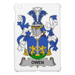 Escudo de la familia de Owen iPad Mini Protectores