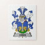 Escudo de la familia de Owen Rompecabezas