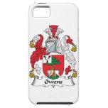 Escudo de la familia de Owens iPhone 5 Case-Mate Cobertura