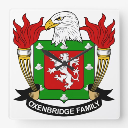 Escudo de la familia de Oxenbridge Reloj