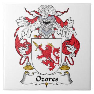 Escudo de la familia de Ozores Teja