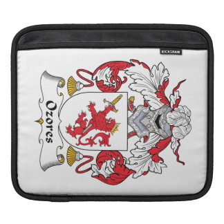Escudo de la familia de Ozores Funda Para iPads