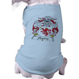 Escudo de la familia de Ozores Camisetas De Perrito