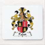 Escudo de la familia de Pabst Tapete De Ratón