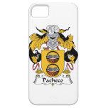 Escudo de la familia de Pacheco iPhone 5 Case-Mate Protector
