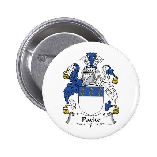 Escudo de la familia de Packe Pin