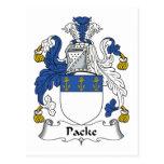 Escudo de la familia de Packe Postales