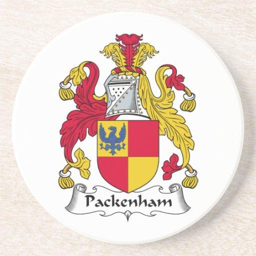 Escudo de la familia de Packenham Posavasos Personalizados