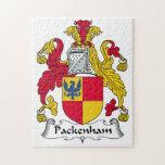 Escudo de la familia de Packenham Puzzles
