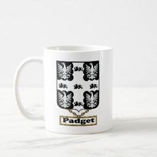 Escudo de la familia de Padget Taza Clásica