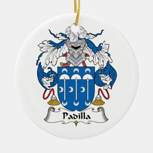 Escudo de la familia de Padilla Ornamento De Reyes Magos