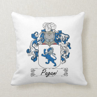 Escudo de la familia de Pagani Almohadas