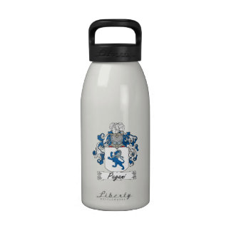 Escudo de la familia de Pagani Botella De Beber