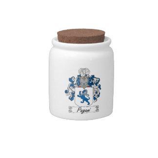 Escudo de la familia de Pagani Jarras Para Caramelos