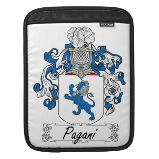 Escudo de la familia de Pagani Funda Para iPads