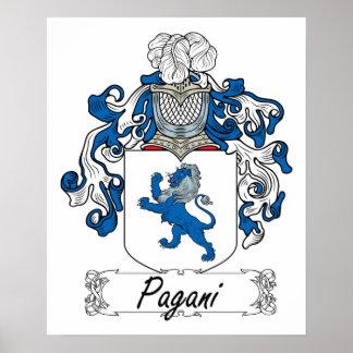Escudo de la familia de Pagani Impresiones
