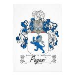 Escudo de la familia de Pagani Comunicados Personales