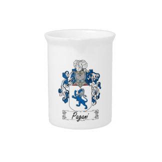 Escudo de la familia de Pagani Jarra De Beber