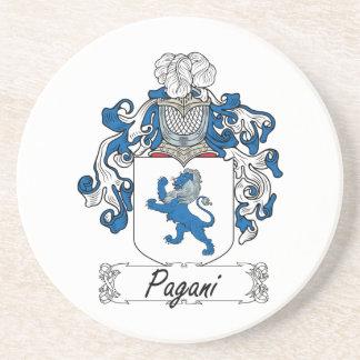 Escudo de la familia de Pagani Posavasos Cerveza