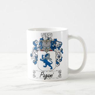 Escudo de la familia de Pagani Taza