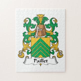 Escudo de la familia de Paillet Rompecabeza