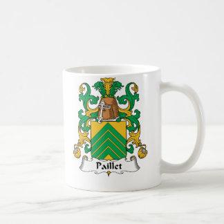 Escudo de la familia de Paillet Taza Clásica