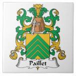 Escudo de la familia de Paillet Tejas Cerámicas