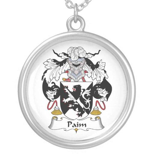 Escudo de la familia de Paim Joyeria Personalizada
