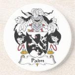 Escudo de la familia de Paim Posavasos Personalizados