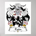 Escudo de la familia de Paim Posters
