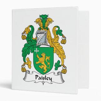 Escudo de la familia de Paisley