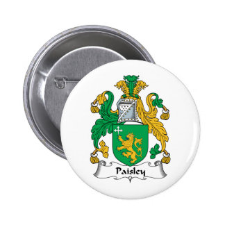 Escudo de la familia de Paisley Pin