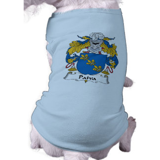 Escudo de la familia de Paiva Camisa De Perrito