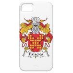 Escudo de la familia de Palacios iPhone 5 Protectores