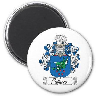 Escudo de la familia de Palazzo Imán Redondo 5 Cm