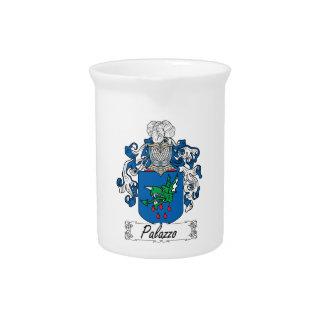 Escudo de la familia de Palazzo Jarra Para Bebida
