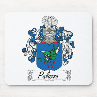Escudo de la familia de Palazzo Mouse Pads
