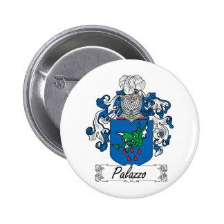 Escudo de la familia de Palazzo Pin Redondo De 2 Pulgadas