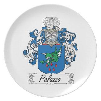 Escudo de la familia de Palazzo Plato